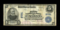 National Bank Notes:Virginia, Galax, VA - $5 1902 Plain Back Fr. 600 The First NB Ch. # 8791. ...