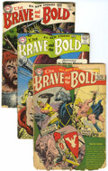 Golden Age (1938-1955):Miscellaneous, The Brave and the Bold Group (DC, 1955-59) Condition: Average PR.... (Total: 9 Comic Books)