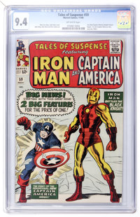 Tales of Suspense #59 (Marvel, 1964) CGC NM 9.4 Off-white pages