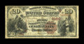 National Bank Notes:Colorado, Central City, CO - $20 1882 Brown Back Fr. 501 The First NB Ch. #2129. ...