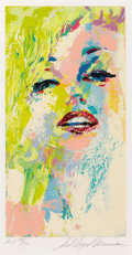 Fine Art - Work on Paper:Print, LEROY NEIMAN (American, b. 1926). Marilyn Monroe, 1992.Serigraph. Ed. A.P. 39/50. Signed lower right: LeRoyNeiman...