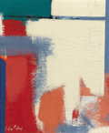 Fine Art - Painting, American:Modern  (1900 1949)  , CARL ROBERT HOLTY (American, 1900-1973). Break Through. Oilon fiberboard. Signed lower left: Holty. Inscribed verso...