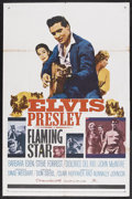 "Movie Posters:Elvis Presley, Flaming Star (20th Century Fox, 1960). One Sheet (27"" X 41""). ElvisPresley. Starring Elvis Presley, Barbara Eden, Steve For..."