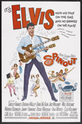 """Movie Posters:Elvis Presley, Spinout (MGM, 1966). One Sheet (27"""" X 41""""). Elvis Presley. StarringElvis Presley, Shelley Fabares, Diane McBain, Dodie Mars..."""