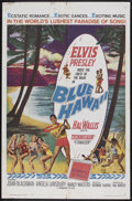 "Movie Posters:Elvis Presley, Blue Hawaii (Paramount, 1961). One Sheet (27"" X 41""). ElvisPresley. Starring Elvis Presley, Joan Blackman, Angela Lansbury ..."
