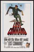 "Movie Posters:War, Lost Command (Columbia, 1966). One Sheet (27"" X 41""). War. StarringAnthony Quinn, Alain Delon, George Segal, Michele Morgan..."