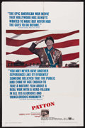 "Movie Posters:Academy Award Winner, Patton (20th Century Fox, 1970). One Sheet (27"" X 41""). AcademyAward Winner. Starring George C. Scott, Karl Malden, Stephen..."