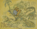 Illustration:Magazine, JAMES MONTGOMERY FLAGG (American 1877-1960). A Busman'sHoliday, 1939. Watercolor on paper. 8-1/2 x 11in.. Signed lower...