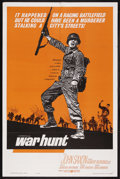 "Movie Posters:War, War Hunt (United Artists, 1962). One Sheet (27"" X 41""). War.Starring John Saxon, Robert Redford, Charles Aidman, Sydney Pol..."