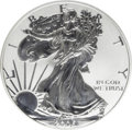 2006-P $1 Reverse Proof Silver Eagle, 20th Anniversary PR70 Deep Cameo ICG. First Strike. NGC Census: (0/0). PCGS Popula...