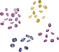 Estate Jewelry:Unmounted Gemstones, Lot of Unmounted Gemstones. ...