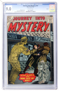 Journey Into Mystery #47 Circle 8 pedigree (Marvel, 1957) CGC VF/NM 9.0 Off-white pages