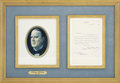 "Autographs:U.S. Presidents, William McKinley Typed Letter Signed. One page, 5.25"" x 8.25"",February 21, 1896, Canton, Ohio, to Ezra A. Carman. ..."