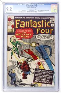 Fantastic Four #20 (Marvel, 1963) CGC NM- 9.2 Off-white to white pages