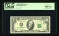Error Notes:Ink Smears, Fr. 2028-E $10 1988A Federal Reserve Note. PCGS New 62PPQ.. ...