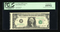 Error Notes:Miscellaneous Errors, Fr. 1913-E $1 1985 Federal Reserve Note. PCGS Extremely Fine 45PPQ.. ...