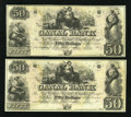 Obsoletes By State:Louisiana, New Orleans, LA- New Orleans Canal & Banking Company $50 Two Examples.. ... (Total: 2 notes)