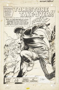 Original Comic Art:Splash Pages, Ogden Whitney Kid Colt, Outlaw #141, Splash page 1 OriginalArt (Marvel, 1969)....