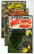 Silver Age (1956-1969):Horror, The Witching Hour Group (DC, 1969-78) Condition: Average VG+....(Total: 28 Comic Books)