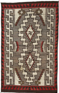 Paintings, A LARGE NAVAJO REGIONAL RUG. Klagetoh. c. 1930...