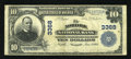 National Bank Notes:Virginia, Norfolk, VA - $10 1902 Plain Back Fr. 624 Norfolk NB Ch. # 3368....