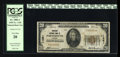 National Bank Notes:Virginia, Portsmouth, VA - $20 1929 Ty. 1 American NB Ch. # 11381. ...