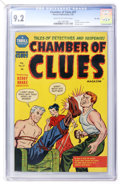 Golden Age (1938-1955):Crime, Chamber of Clues #27 File Copy (Harvey, 1955) CGC NM- 9.2 Cream to off-white pages....