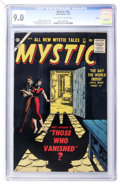 Golden Age (1938-1955):Horror, Mystic #58 Circle 8 pedigree (Atlas, 1957) CGC VF/NM 9.0 Off-whiteto white pages....