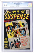 Silver Age (1956-1969):Mystery, World of Suspense #8 File Copy (Atlas, 1957) CGC VF/NM 9.0 Whitepages....