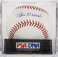 Autographs:Baseballs, Stan Musial Single Signed Baseball, PSA Gem Mint 10....