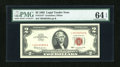 Small Size:Legal Tender Notes, Fr. 1513* $2 1963 Legal Tender Star Note. PMG Choice Uncirculated 64 EPQ.. ...