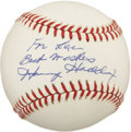 Autographs:Baseballs, Harvey Haddix Single Signed Baseball....