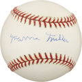 Autographs:Baseballs, Marvin Miller Single Signed Baseball....
