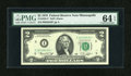 Fr. 1935-I* $2 1976 Federal Reserve Star Note. PMG Choice Uncirculated 64 EPQ