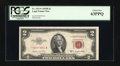 Small Size:Legal Tender Notes, Fr. 1511* $2 1953B Legal Tender Star Note. PCGS Choice New 63PPQ.. ...