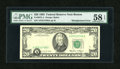 Error Notes:Shifted Third Printing, Fr. 2075-A $20 1985 Federal Reserve Note. PMG Choice About Unc 58 EPQ.. ...