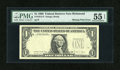 Error Notes:Missing Third Printing, Fr. 1914-E $1 1988 Federal Reserve Note. PMG About Uncirculated 55 EPQ.. ...