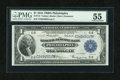Fr. 715 $1 1918 Federal Reserve Bank Note PMG About Uncirculated 55