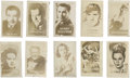 Non-Sport Cards:General, 1948 Topps Magic Photos Actors & Actresses Group of (57). ...