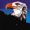 Fine Art - Work on Paper:Print, ANDY WARHOL (American, 1928-1987). Bald Eagle, 1983.Published in the portfolio Endangered Species. Screenprintin c...