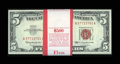 Small Size:Legal Tender Notes, Fr. 1536 $5 1963 Legal Tender Notes. Original Pack of 100. Choice Crisp Uncirculated.. ... (Total: 100 notes)