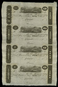 Obsoletes By State:Ohio, Cincinnati, OH- Unknown Issuer $5-$3-$2-$1 Uncut Sheet. ... (Total:1 sheet)