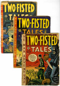 Golden Age (1938-1955):War, Two-Fisted Tales Group (EC, 1951-55) Condition: Average FR/GD....(Total: 11 Comic Books)