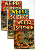 Golden Age (1938-1955):Horror, Weird Science Group (EC, 1951-53) Condition: Average GD.... (Total:5 Comic Books)