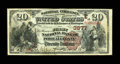 National Bank Notes:Pennsylvania, Port Allegany, PA - $20 1882 Brown Back Fr. 497 The First NB Ch. # (E)3877. ...