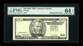 Error Notes:Missing Third Printing, Fr. 2126-? $50 1996 Federal Reserve Note. PMG Choice Uncirculated 64 EPQ....