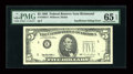 Error Notes:Partial Third Printing, Fr. 1985-E $5 1995 Federal Reserve Note. PMG Gem Uncirculated 65 EPQ....