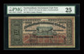 Canadian Currency: , St. John's NF- Newfoundland Government Cash Note 25¢ 1912-1913 Ch.# NF-7c. ...