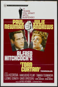 """Movie Posters:Hitchcock, Torn Curtain (Universal, 1966). One Sheet (27"""" X 41"""").Hitchcock...."""