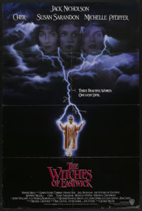 """The Witches of Eastwick (Warner Brothers, 1987). One Sheet (27"""" X 40.5""""). Drama"""